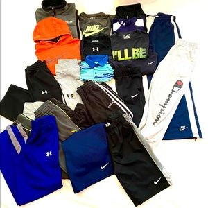 Athletic Clothing Lot of 19 Items